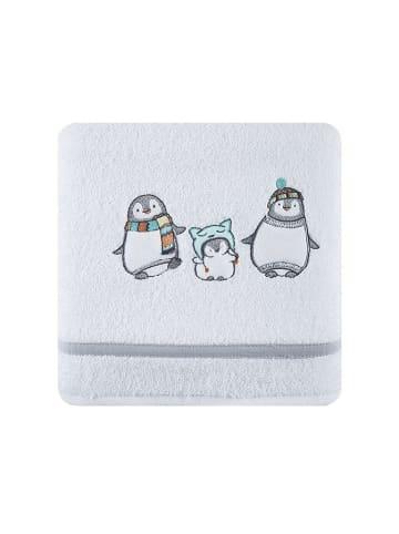 """Eurofirany Ręcznik """"Baby12"""" w kolorze szaro-białym"""