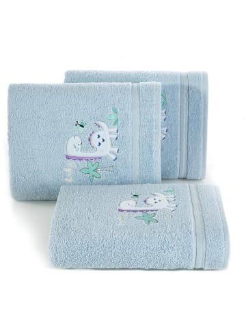 """Eurofirany Ręcznik """"Baby30"""" w kolorze jasnoniebieskim"""