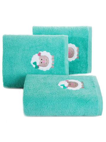 """Eurofirany Ręcznik """"Baby31"""" w kolorze turkusowym"""