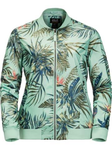 "Jack Wolfskin Blouson ""Tropical"" turquoise"