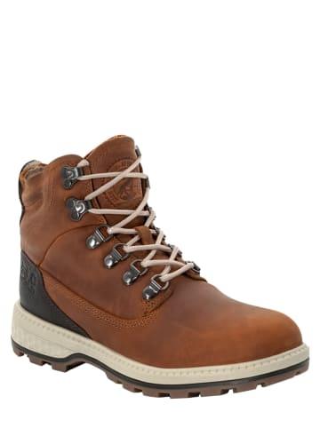 "Jack Wolfskin Leren boots ""Jack"" bruin"