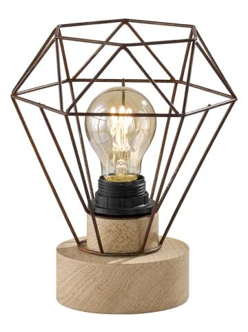 FH Lighting Tafellamp lichtbruin - (H)22,5 x Ø 19 cm