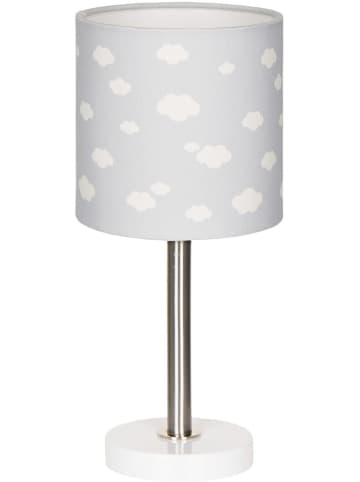 "HAPPY STYLE Tafellamp ""Wolk 7"" zilvergrijs/wit - (H)35 cm"