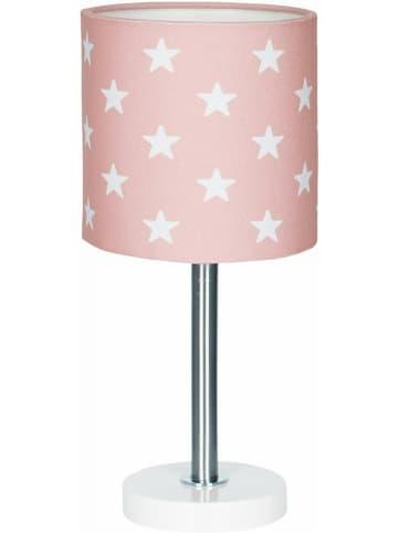 "HAPPY STYLE Tafellamp ""Stars"" lichtroze/wit - (H)35 cm"