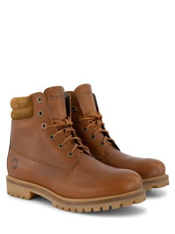 "TRAVELIN' Leren boots ""Ljosland"" lichtbruin"