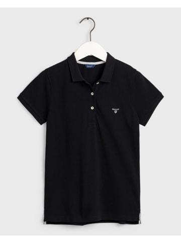 Gant Koszulka polo w kolorze czarnym