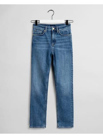 Gant Dżinsy - Regular fit - w kolorze niebieskim