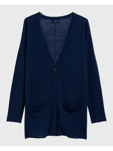 Gant Vest donkerblauw