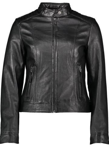 Apple of Eden Skórzana kurtka w kolorze czarnym