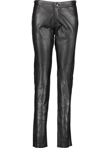 KRISS Leren broek zwart