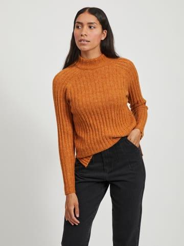 """Vila Sweter """"Nikki"""" w kolorze pomarańczowym"""
