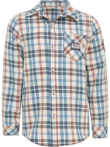 Mexx Koszula w kolorze niebiesko-kremowym