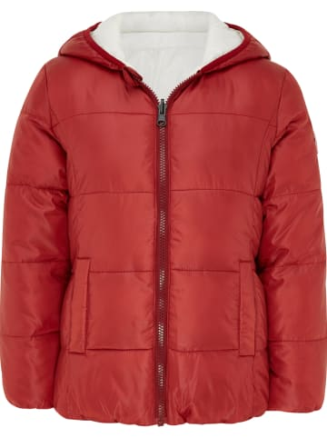 Mexx Dwustronna kurtka w kolorze czerwonym