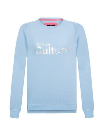 CULTURE Bluza w kolorze jasnoniebieskim