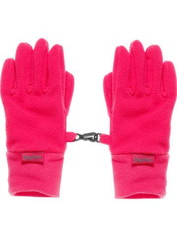 Playshoes Fleece handschoenen lichtroze