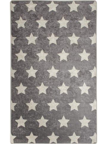 Woody Kid Store Laagpolig tapijt grijs