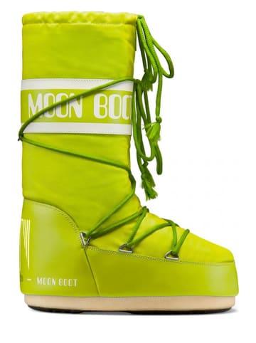 """Moon Boot Botki zimowe """"Classic"""" w kolorze żółtym"""