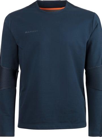"""Mammut Sweatshirt """"Zun"""" donkerblauw"""
