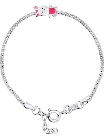 Kidwell Srebrna bransoletka z elementem ozdobnym - dł. 14,5 cm