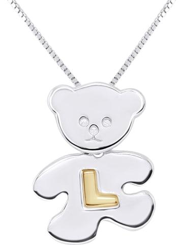 "Kidwell Zilveren hanger ""Letter L"""