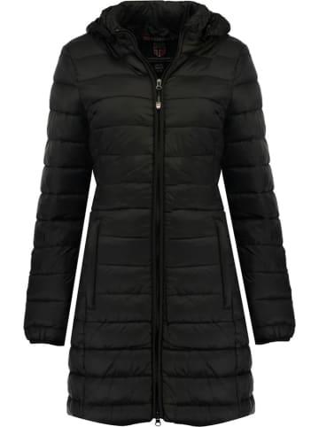 """Geographical Norway Płaszcz zimowy """"Areca"""" w kolorze czarnym"""
