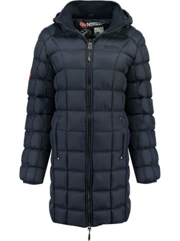 """Geographical Norway Płaszcz zimowy """"Babette"""" w kolorze granatowym"""