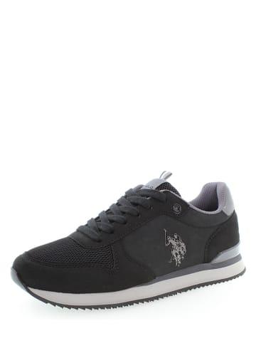 """U.S. Polo Assn. Leder-Sneakers """"Taila"""" in Schwarz"""