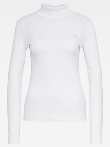 G-Star Longsleeve in Weiß