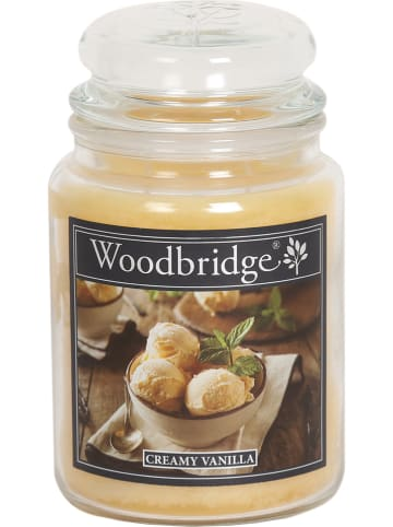 "Woodbridge Duftkerze ""Creamy Vanilla"" in Gelb - 565 g"