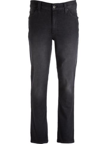 Mustang Dżinsy - Tapered fit - w kolorze czarnym
