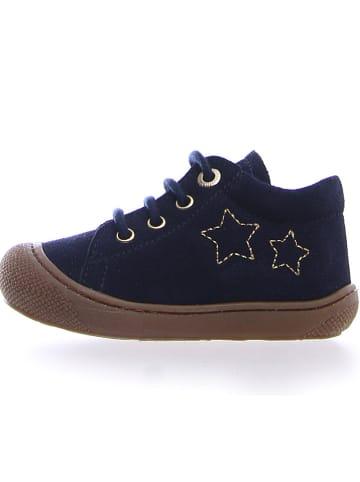 """Naturino Leren sneakers """"Kube"""" donkerblauw"""
