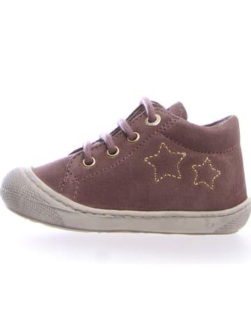 """Naturino Leder-Sneakers """"Kube"""" in Braun"""