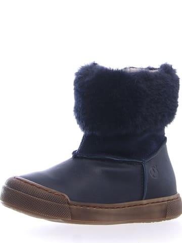"""Naturino Leder-Boots """"Kelo"""" in Dunkelblau"""