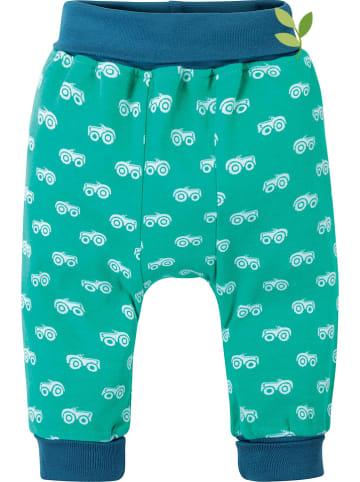 """Frugi Spodnie """"Parsnip"""" w kolorze zielonym"""