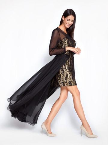 Molton Sukienka w kolorze czarno-złotym