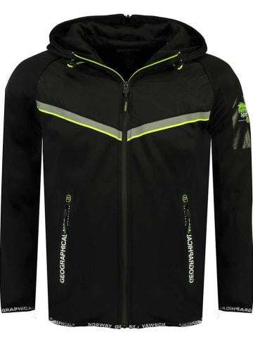 """Geographical Norway Fleece vest """"Fassicule"""" zwart"""