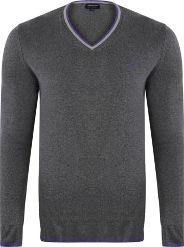 GIORGIO DI MARE Sweter w kolorze antracytowym