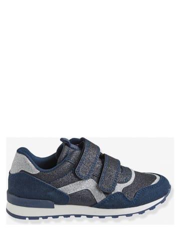 Vertbaudet Sneakers donkerblauw/zwart