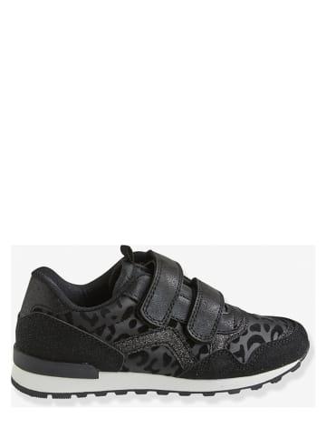 Vertbaudet Sneakersy w kolorze czarnym