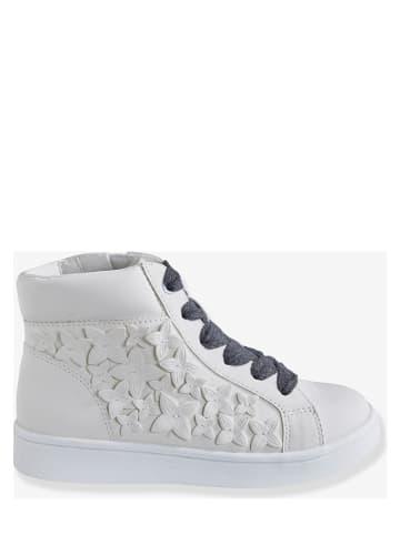 Vertbaudet Sneakersy w kolorze białym