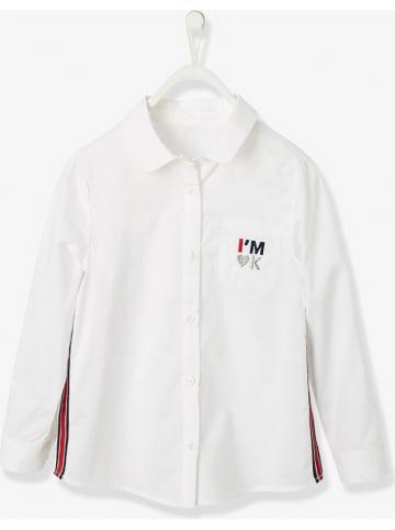 Vertbaudet Bluzka w kolorze białym