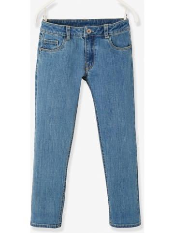 Vertbaudet Dżinsy w kolorze niebieskim