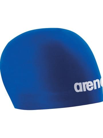 """Arena Czepek kąpielowy """"3D Race"""" w kolorze niebieskim"""
