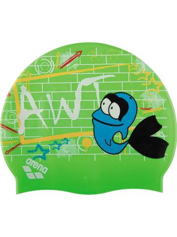 """Arena Czepek pływacki """"AWT Multi"""" w kolorze zielonym"""