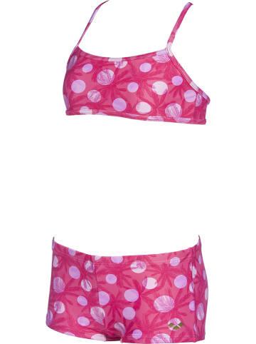 """Arena Bikini """"Tropical Summer"""" w kolorze różowym"""