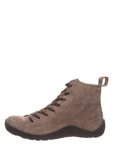 """Think! Leder-Ankle-Boots """"Getscho"""" in Braun/ Grau"""