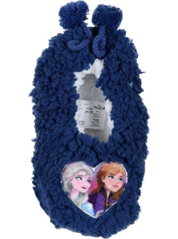 "Disney Frozen Kapcie ""Frozen"" w kolorze granatowym"