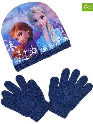 "Disney Frozen 2-delige winteraccessoireset ""Frozen"" blauw"
