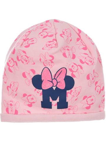 """Disney Minnie Mouse Czapka """"Minnie Mouse"""" w kolorze jasnoróżowym"""