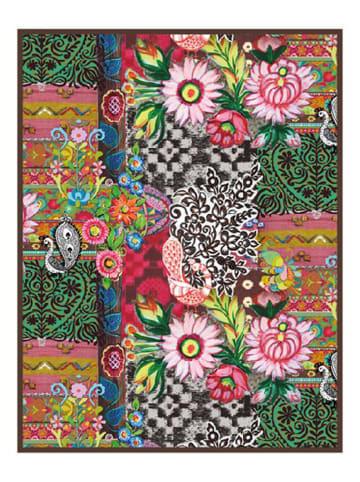 """HAPPINESS Deken """"Quintana"""" meerkleurig - (L)130 x (B)160 cm"""